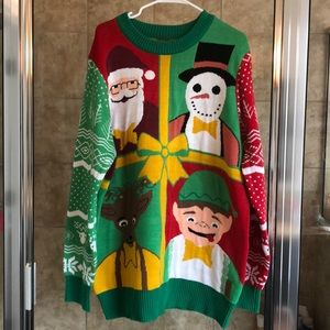 Tipsy Elves UNISEX Ugly Christmas Sweater XXL